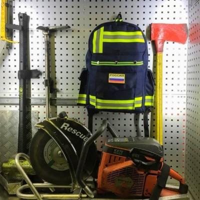 Рюкзак Пожарный (синий)