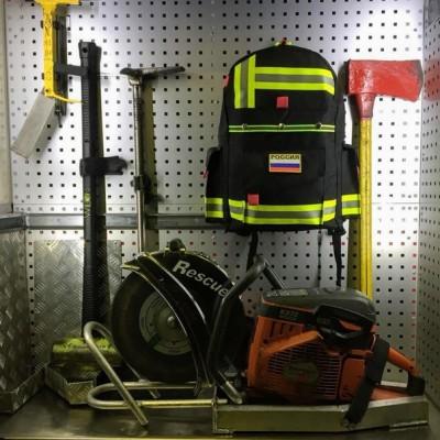 Рюкзак Пожарный (черный)