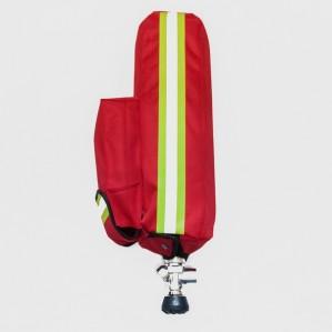 Чехол для баллона с карманом (красный) №2