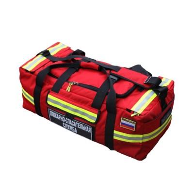 Сумка для боевой одежды пожарного БОП (красный)