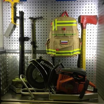 Рюкзак Пожарный (бежевый)