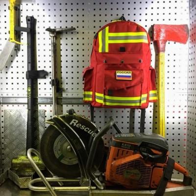 Рюкзак Пожарный (красный)