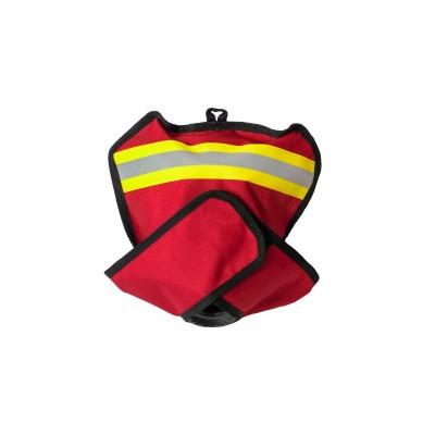 Чехол для панорамной маски пожарного (красный)