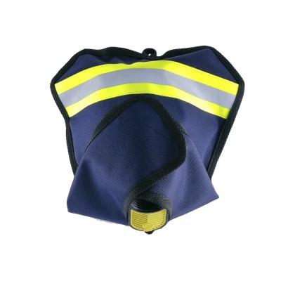 Чехол для панорамной маски пожарного (синий)