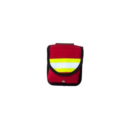 Подсумок пожарный поясной М2 (красный)